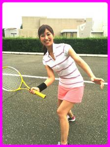 酒井千佳テニス